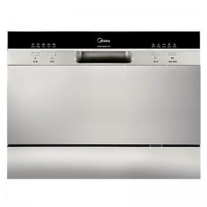 美的 洗碗机 WQP6-3602A-CN 6.5L 500*550*438mm 银色