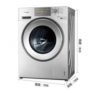 松下 XQG100-EG125 10公斤变频除菌洗烘一体滚筒洗衣机(银色)