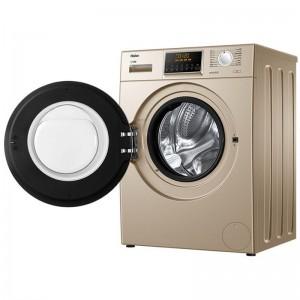 海尔(haier)滚筒洗衣机全自动智能变频家用10公斤 G100828HB12GU1 洗烘一体