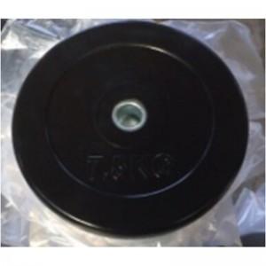 鸿迈 1KG 大孔杠铃片 黑色(单位:个)