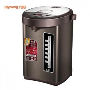 九阳(Joyoung)电水壶 电热水瓶 5L容量 电动出水 六段保温 液晶显示