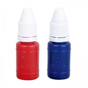 得力/deli 9873 蓝色 1 个装 10 ml 印尼印油