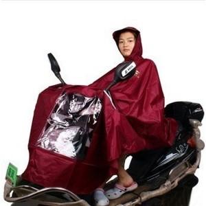 天堂2012新款大尺寸雨衣 挡风防雨多色单人雨披N120电动车