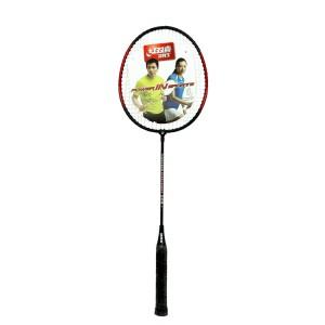 红双喜对装羽毛球拍 钛合金中杆材质 韧性强颜色:见图片、型号:铁合金 208