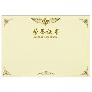 得力/deli 3231 黄色 50 个/装 8K 证书