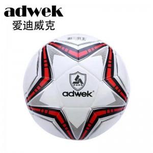 爱迪威克 足球 608贴皮标准 5号 比赛/室内外通用球 PU 胶粘