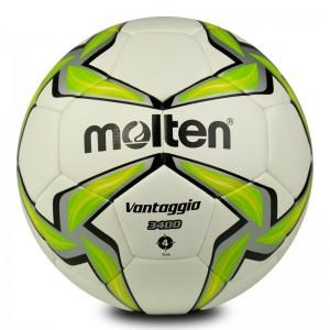 摩腾 比赛足球 F4V3400-G 标准4号球 PU 丁基内胆 HYBRID构造 热粘合+机缝 绿白